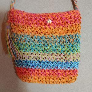 🌼4/$20 Cappelli Straworld Crossbody bag.